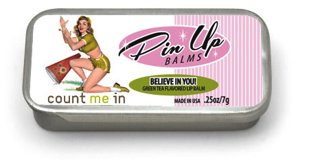 Believe in You! Green Tea Lip Balm