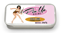 Coco-lime pin up lip balm