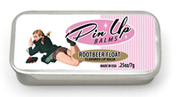 Rootbeer Float pin up lip balm